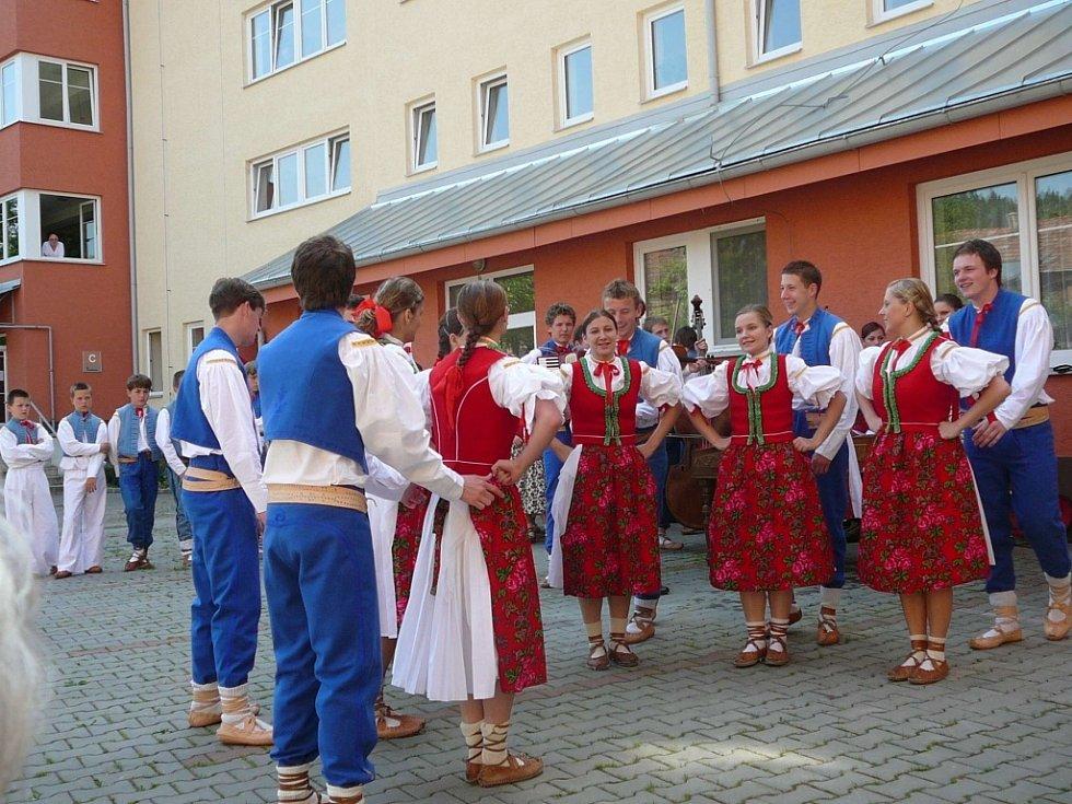 4. ročník folklorního festivalu Světlovský bál v Bojkovicích.
