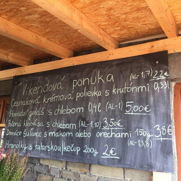 Holubyho chata na Velké Javořině je opět otevřená.