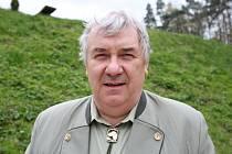 Předseda okresní myslivecké komise Libor Beníček.