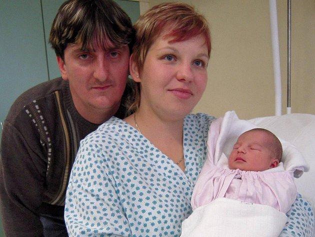 První miminko roku v ČR se narodilo v Uherském Hradišti, je jím Šárka Malíková z Huštěnovic
