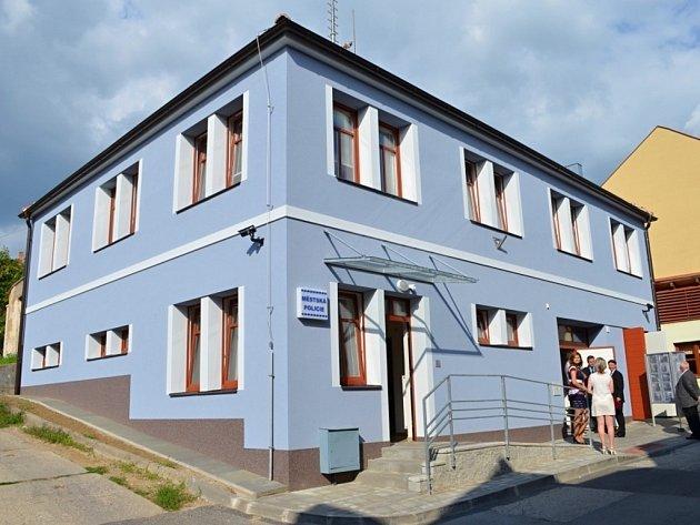 """Na zbrusu nové adrese je třeba hledat """"základnu"""" městských policistů v Uherském Brodě."""
