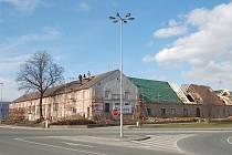 Opravy Panského dvora v Kunovicích pokračují.