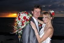 Soutěžní svatební pár číslo 276 - Dagmar a Tomáš Kovaříkovi, Brno.