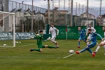 Fotbalisté Slovácka na herním soustředění v Turecku zdolali dánský tým Randers FC 1:0.
