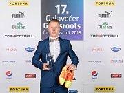 Fotbalista Otrokovic a hráč Bazooky Uherské Hradiště Lukáš Křivánek  se stal futsalovým talentem roku 2018.