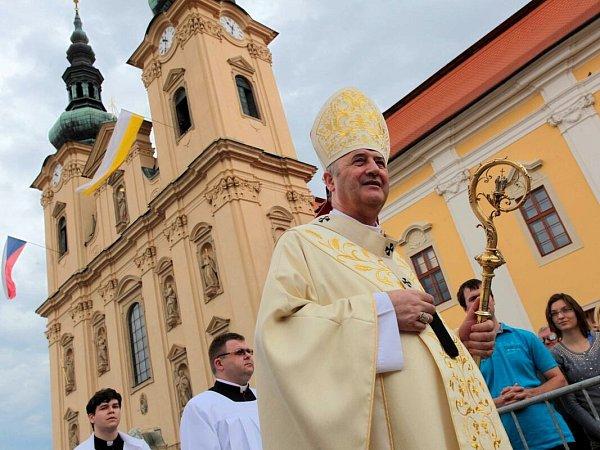 Olomoucký arcibiskup Jan Graubner na Velehradě