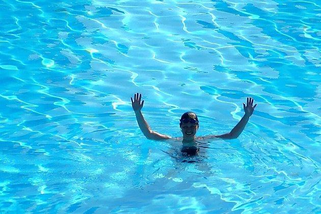 Minulý život jsem zřejmě prožila jako vydra. Miluji vodu vjakékoliv podobě.