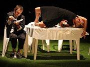 Hra Autista - Moje ztracené nervy ve Slováckém divadle v Uherském Hradišti.