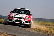 Martin Bujáček v úterý ladil formu i auto na nejvýznamnější český podnik – Barum rally.