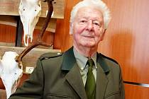 Jan Junaštík je půl století příslušníkem Hubertova cechu.