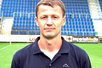 Trenér Jan Palinek.
