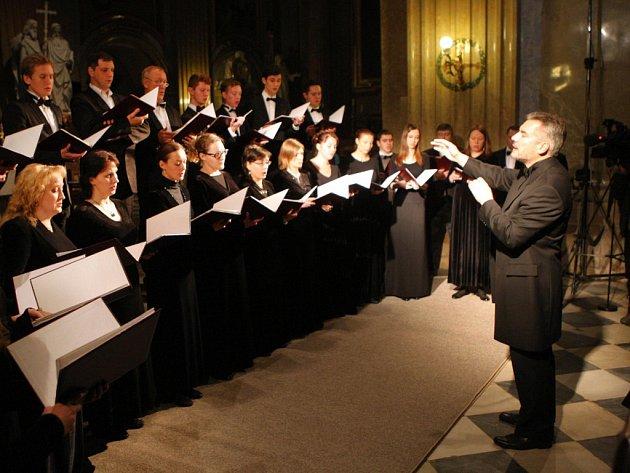 Vystoupení Moskevského synodálního chóru na Velehradě.