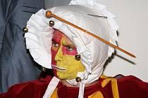 K nočním prohlídkám na Buchlově neodmyslitelně patří vystoupení v dobových kostýmech.