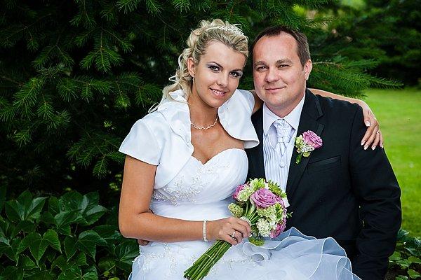 Soutěžní svatební pár číslo 114 - Aneta a Radek Trunečkovi, Kostelec na Hané.