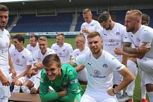 Fotbalisté 1.FC Slovácko.