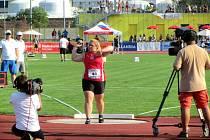 Blance Tomáškové unikla dospělá medaile o 28 centimetrů