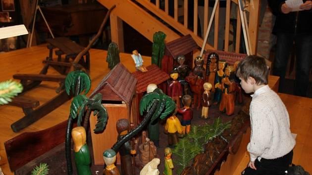 Muzeum bylo prodchnuto adventem a Vánoci
