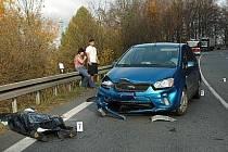Tragická nehoda motorkářů v Buchlovských horách. Dušičkový víkend si vyžádal zatím dvanáct obětí