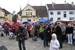 Občané Buchlovic se na jarmark těšili.