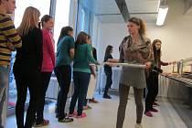 Gymnázium v Uherském Hradišti v pondělí 3. února otevřelo zcela nové stravovací prostory.