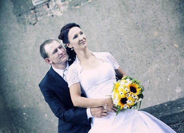 Soutěžní svatební pár číslo 148 - Nela a Jaromír Dostálovi, Bochoř.