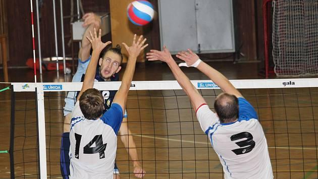 I. liga - 1. kolo: VSK Staré Město - ČZU Praha (v bílém)