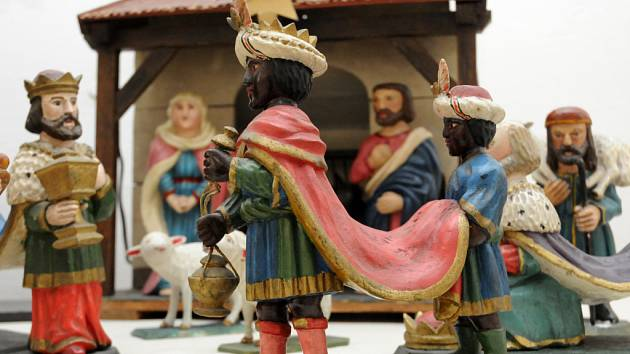 Šedesát betlémů lze spatřit v galerii Panský dům v Uherském Brodě.