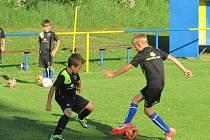 Už čtvrtý ročník fotbalového kempu, se od 7. července konal v malebném podhůří Bílých Karpat, v Penzionu Boďa a přilehlém areálu koupaliště v Horním Němčí.