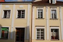 Ubytovací zařízení v Růžové ulici v Uh. Hradišti.