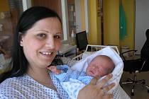 Petra Fabianová a syn, 47cm, 2950g, 10. 5. 2011