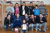Sáloví fotbalisté Uherského Brodu prohráli na turnaji pouze jednou a po zásluze zvítězili.