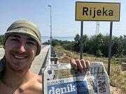 Maxim Jilík dorazil po 27 dnech do Rijeky.