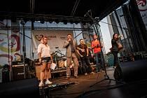 Sportovně kulturní festival Slovácké léto je v plném proudu. Takto vypadalo slavnostní zahájení v pátek 3. července.