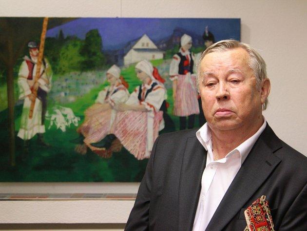 Zdeněk Hudeček vystavuje. Ilustrační foto.