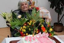 Arnoštka Hrnčárková oslavila v pátek sté narozeniny.