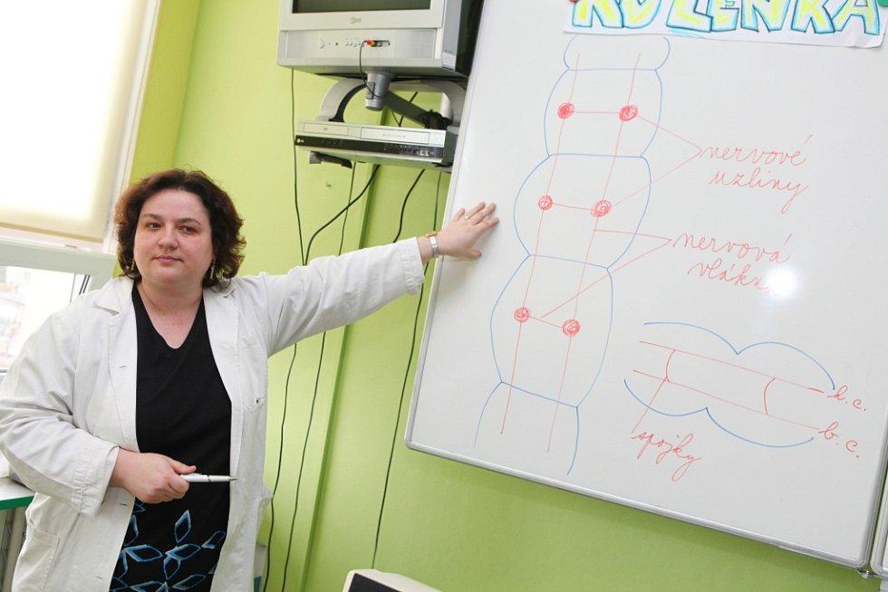 Zlatý Amos učitelka Růžena Hlůšková