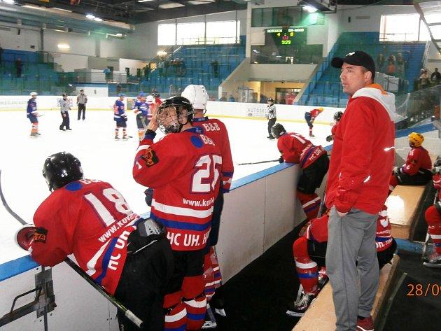 Hokejisté HC Uherské Hradiště zvítězili na ledě Hodonína B 8:4.