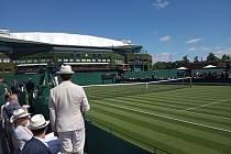 Posvátný Wimbledon. Nejslavnější tenisový turnaj světa očima novináře ze Slovácka. Těsně před začátkem turnaje.