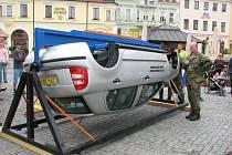 Zatočili s řidiči alespoň pětkrát, aby věděli, jak to při takové havárii vypadá