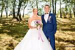 Soutěžní svatební pár číslo 155 - Martina a Tomáš Petříkovi, Uherské Hradiště