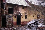 Dům ve Zlíně-Kudlově, kde ve středu večer zahynuli při požáru dva lidé.