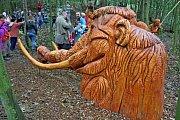 Po stopách lovců mamutů vBoršicích se vydali vpátek první návštěvníci.