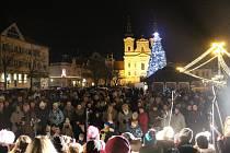 Česko zpívá koledy, Uherské Hradiště 9. prosince 2015. Ilustrační foto.
