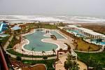 Fotbalisté 1. FC Slovácko na soustředění v Turecku. Hotel Baialara nabízí hráčům veškerý komfort včetně nádherného výhledu na areál a moře.