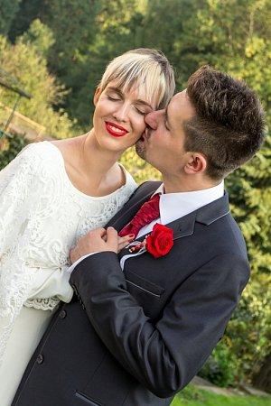 Soutěžní svatební pár číslo 262 - Alžběta a Ondřej Gardlo, Olomouc.