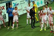 Fotbalisté Slovácka ve 32. kole FORTUNA:LIGY remizovali s Bohemians 1905 a zajistili si účast v pohárové Evropě