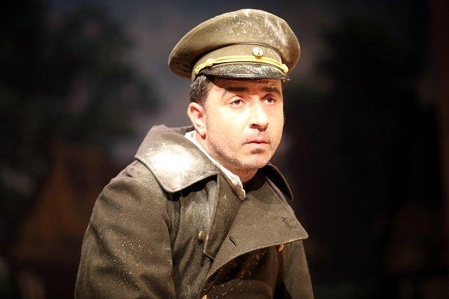 Hra Rodina Tótů ve Slováckém  divadle v Uherském Hradišti.