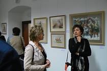 Výstava Karla Nováka v Galerii Joži Uprky v Uherském Hradišti.