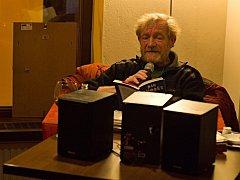 Už podruhé byl 24. října hostem Café Clubu v Uherském Brodě hudební i filmový kritik a novinář Jan Rejžek.