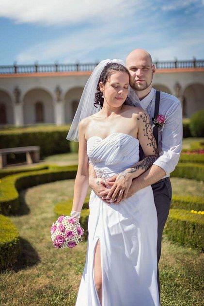 Svatební soutěžní pár číslo 193 - Sabina a Oldřich Machovi, Kroměříž